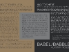 Babble Babel Postcard 2