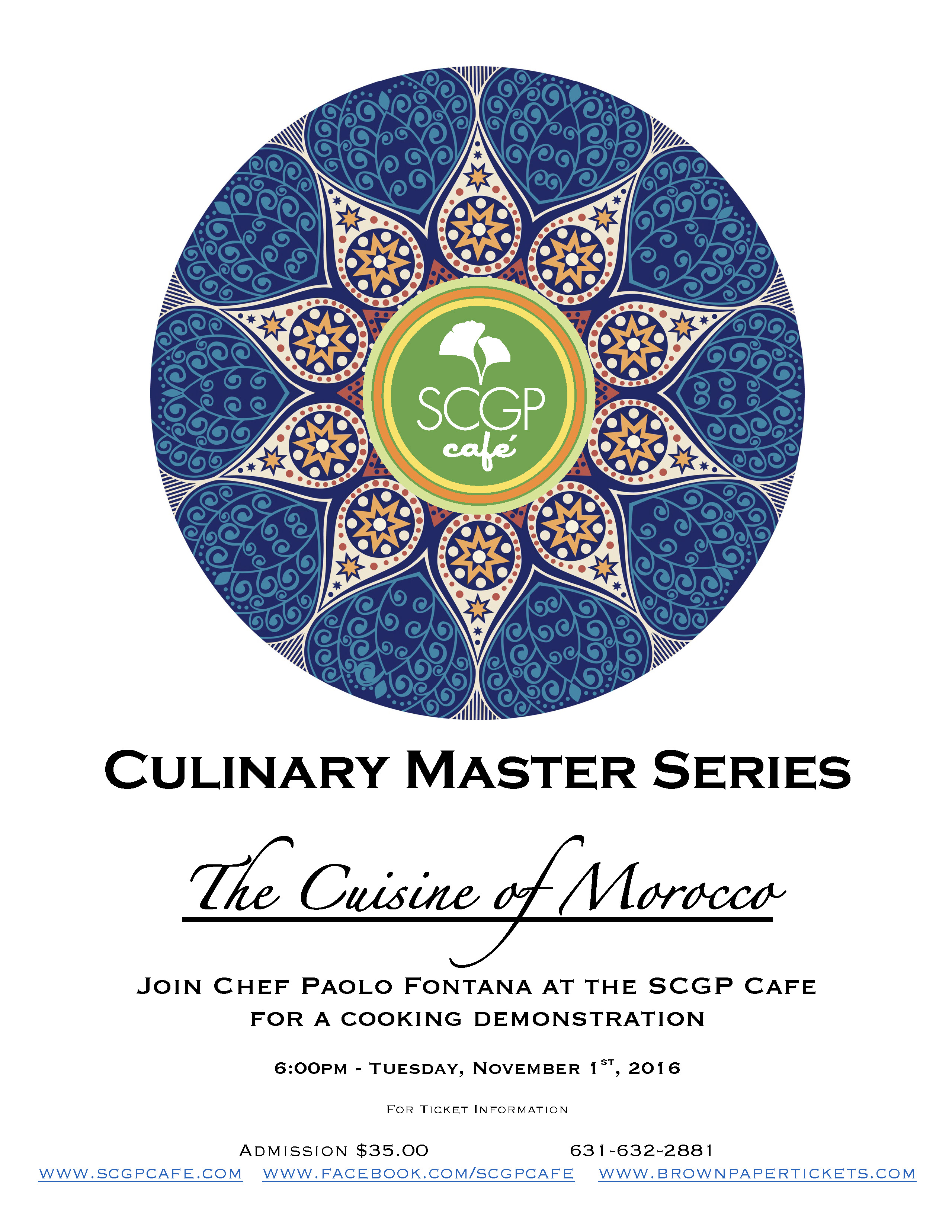 Culinary Master Series Morocco